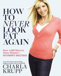 how to never look fat again book charla krupp