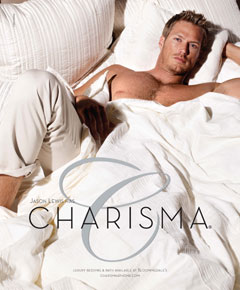 jason lewis bed charisma sheets