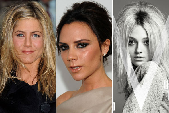 Jennifer Aniston Victoria Beckham Dakota Fanning