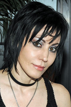 Joan Jett at The Runaways premiere. Photo: Getty Images