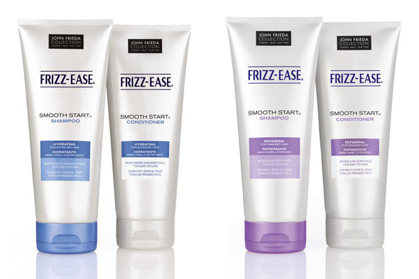 John Frieda Smooth Start Shampoos and Conditioners