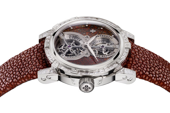 Louis Moinet Watch Dinosaur Bone Fragments