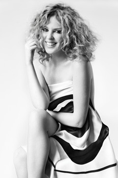 Kylie Minogue sheet Fashion Targets Breast Cancer 2010 campaign