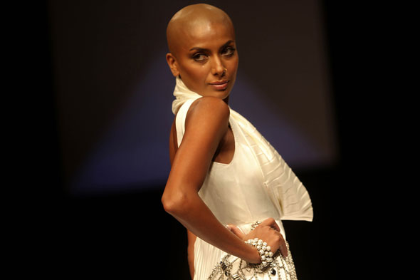 Lakme Fashion Week Bald Model