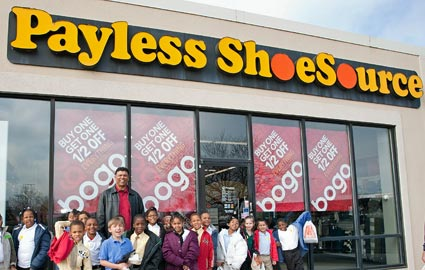 Also, if you choose the ship to store option, your shipping is FREE and you can pick up your order at your closest Payless Shoe Source