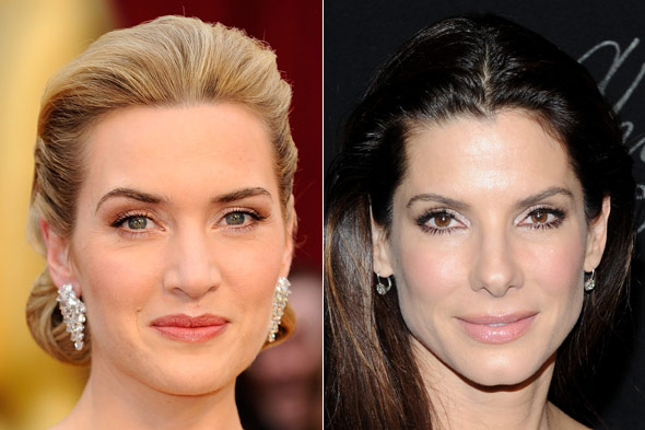 kate winslet sandra bullock best actress Oscars skin