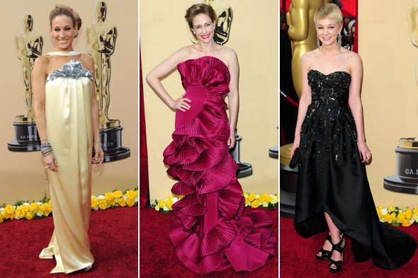 Sarah Jessica Parker Vera Farmiga Carey Mulligan Oscars 2010