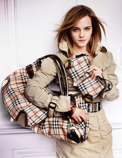 Emma Watson Burberry Spring 2010