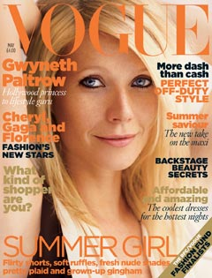Gwyneth Paltrow british vogue may 2010 cover