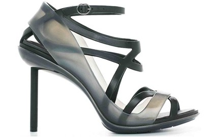 Jean Paul Gaultier and Melissa Collaboration Recyclable Plastic High Heels