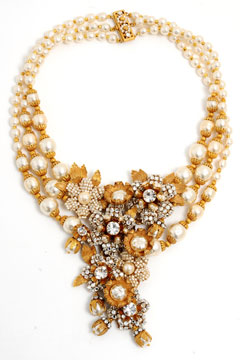Miriam Haskell for J.Crew wedding necklace