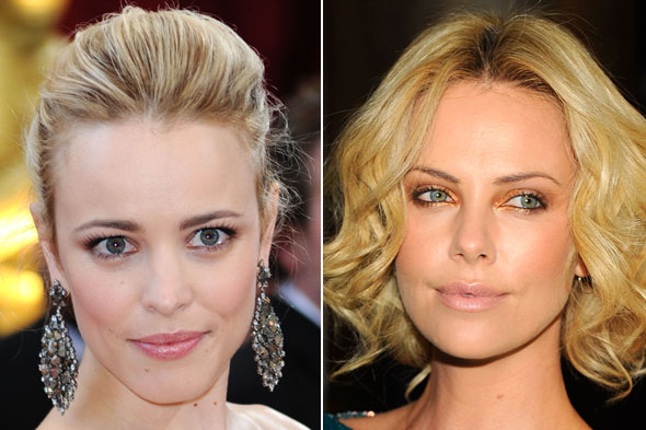 Rachel McAdams Charlize Theron bright eyes