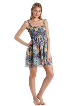 shoshanna made with love charlotte ronson cover-up dress