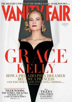 Grace Kelly Vanity Fair May issue