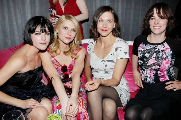 Selma Blair Claire Danes Maggie Gyllenhaal Parker Posey Zac Posen pop-up shop for Target