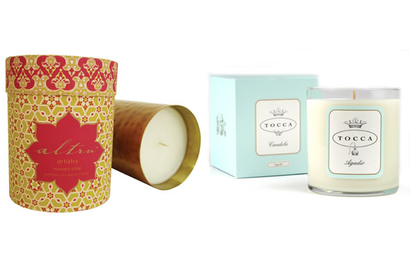 Altru Artistry's Masala Chai Candle Tocca's Agadir Candle