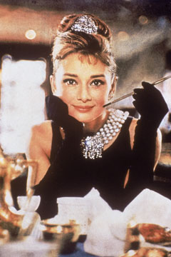 Audrey Hepburn Breakfast at Tiffany's LBD
