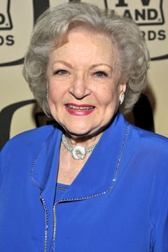 betty white hair