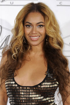 beyonce knowles sparkly top