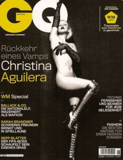 christina aguilera gq german nude boots gloves