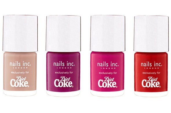 diet coke nail polish