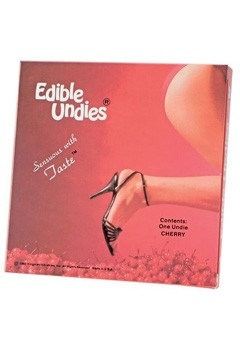 yummy chocolate edible underwear
