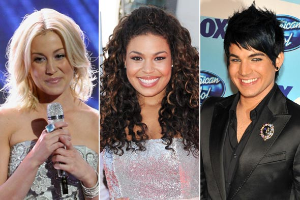 Kellie Pickler Jordin Sparks Adam Lambert american idol hair