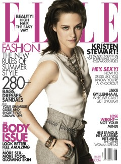 kristen stewart elle magazine cover june 2010
