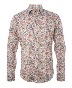 liberty of london mens floral shirt