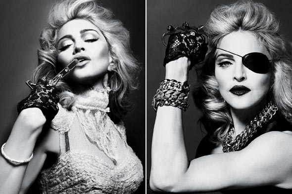 plays heavy metal pirate. Photos courtesy of Interview magazine