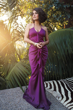 salma hayek instyle june 2010 inside purple halter dress