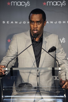 Sean Diddy Combs  Sean John macys