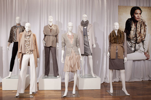 Ann Taylor Winter 2010 collection looks