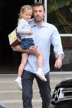 Ben Affleck daughter Violet