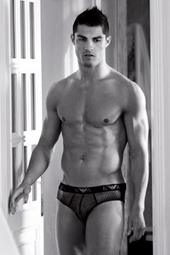 cristiano ronaldo emporio armani underwear ad autumn/winter 2010 bikini briefs doorway