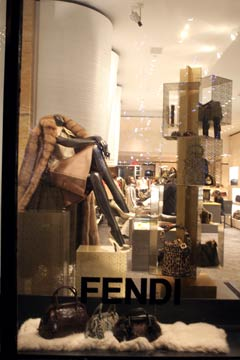 Fendi storefront