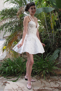 galit zeierman toilet paper wedding dress 2010 winner