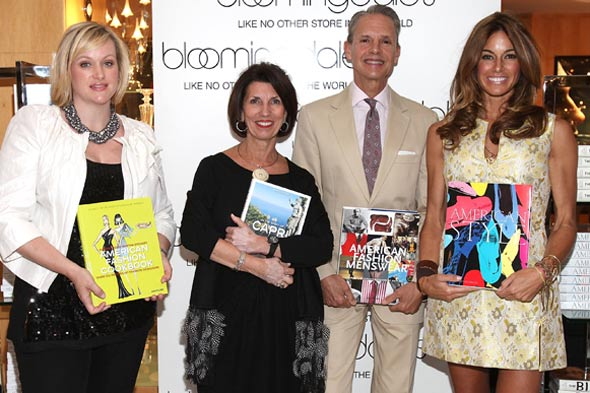 Authors Lisa Marsh, Pamela Fiori, Robert E. Bryan Kelly Killoren Bensimon Bloomingdale's new Assouline shop-in-shop