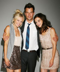Malin Akerman Josh Duhamel Katie Holmes J.Crew Romantics photo shoot