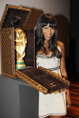 naomi campbell louis vuitton world cup trophy case