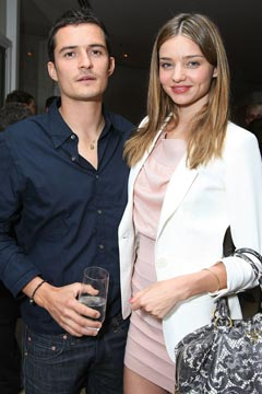 Orlando Bloom Miranda Kerr engaged