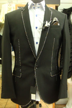 R. Jewels Diamond Edition luxury bespoke suit