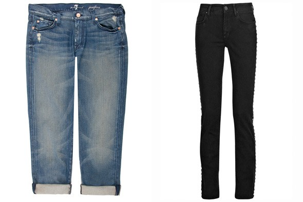 7 for all Mankind Josefina jeans Victoria Beckham jeans