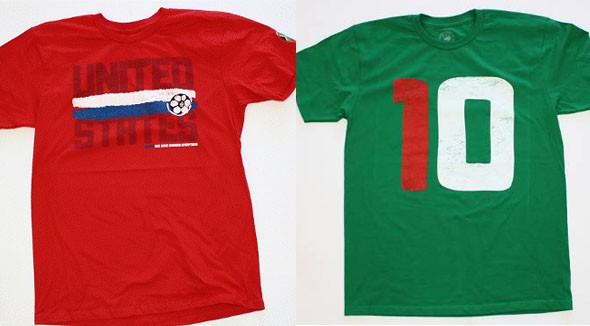 sportiqe apparel world cup 2010 t-shirts red white blue united states green 10