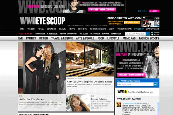 WWD Eye Scoop