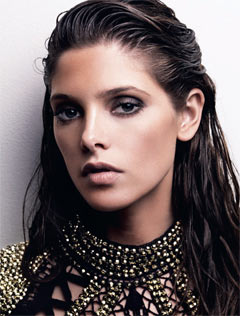 Ashley Greene ASOS magazine july 2010 beaded neckline