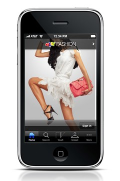 eBay fashion app iPhone
