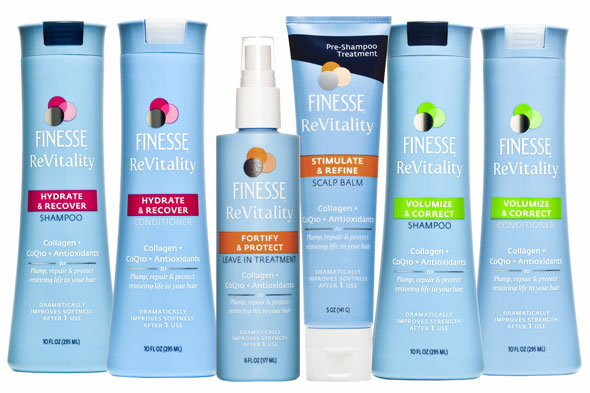 Finesse Revitality Hair Care Line