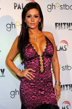 JWoWW 'Filthy Couture' fashion show cleavage jersey shore