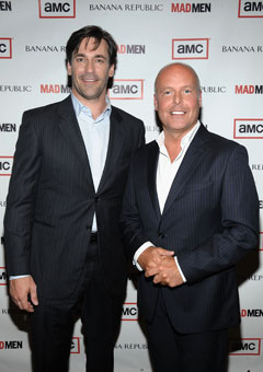 Jon Hamm Don Draper 'Mad Men' Banana Republic creative director Simon Kneen